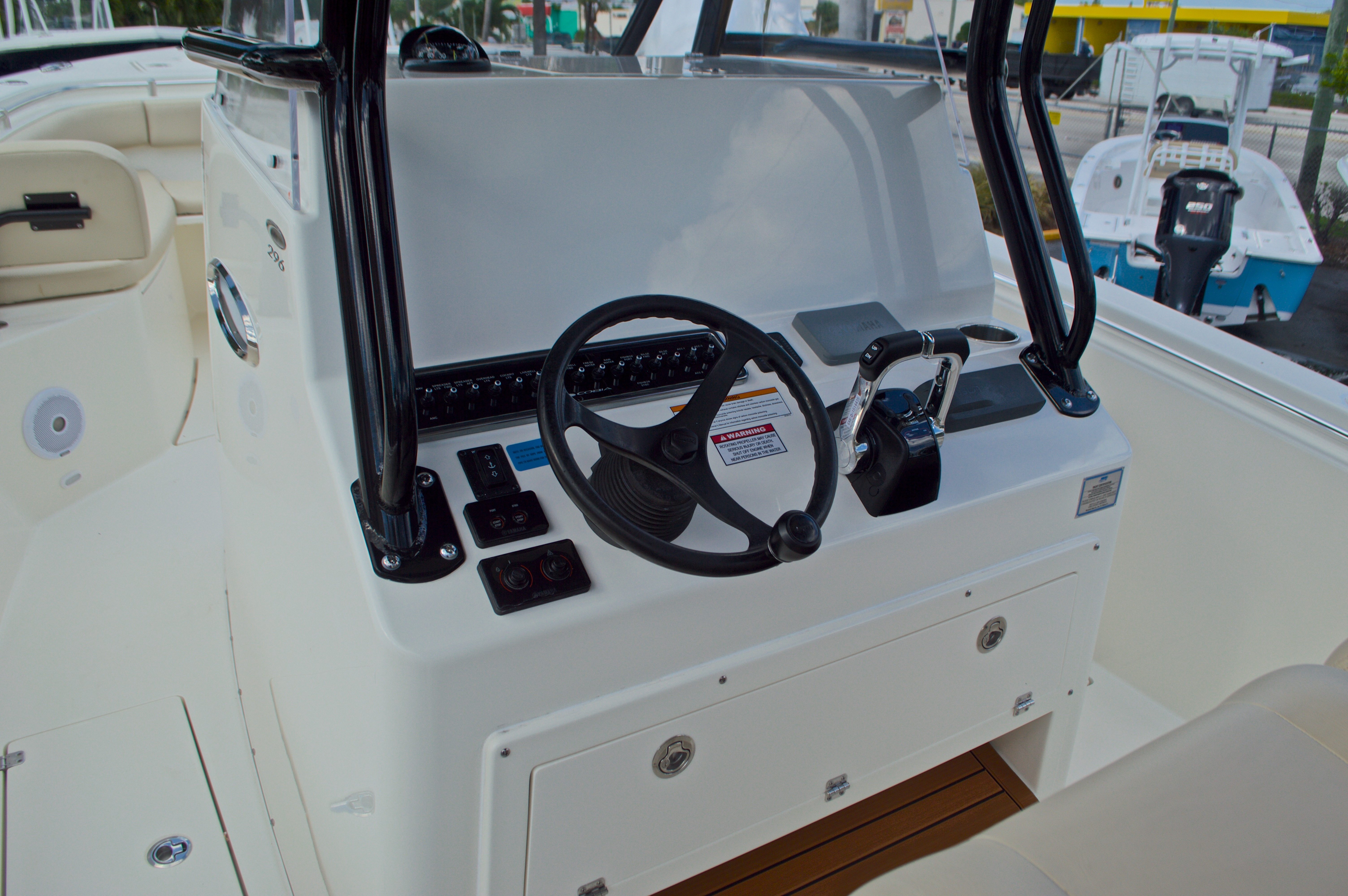 Thumbnail 36 for New 2016 Cobia 296 Center Console boat for sale in Vero Beach, FL