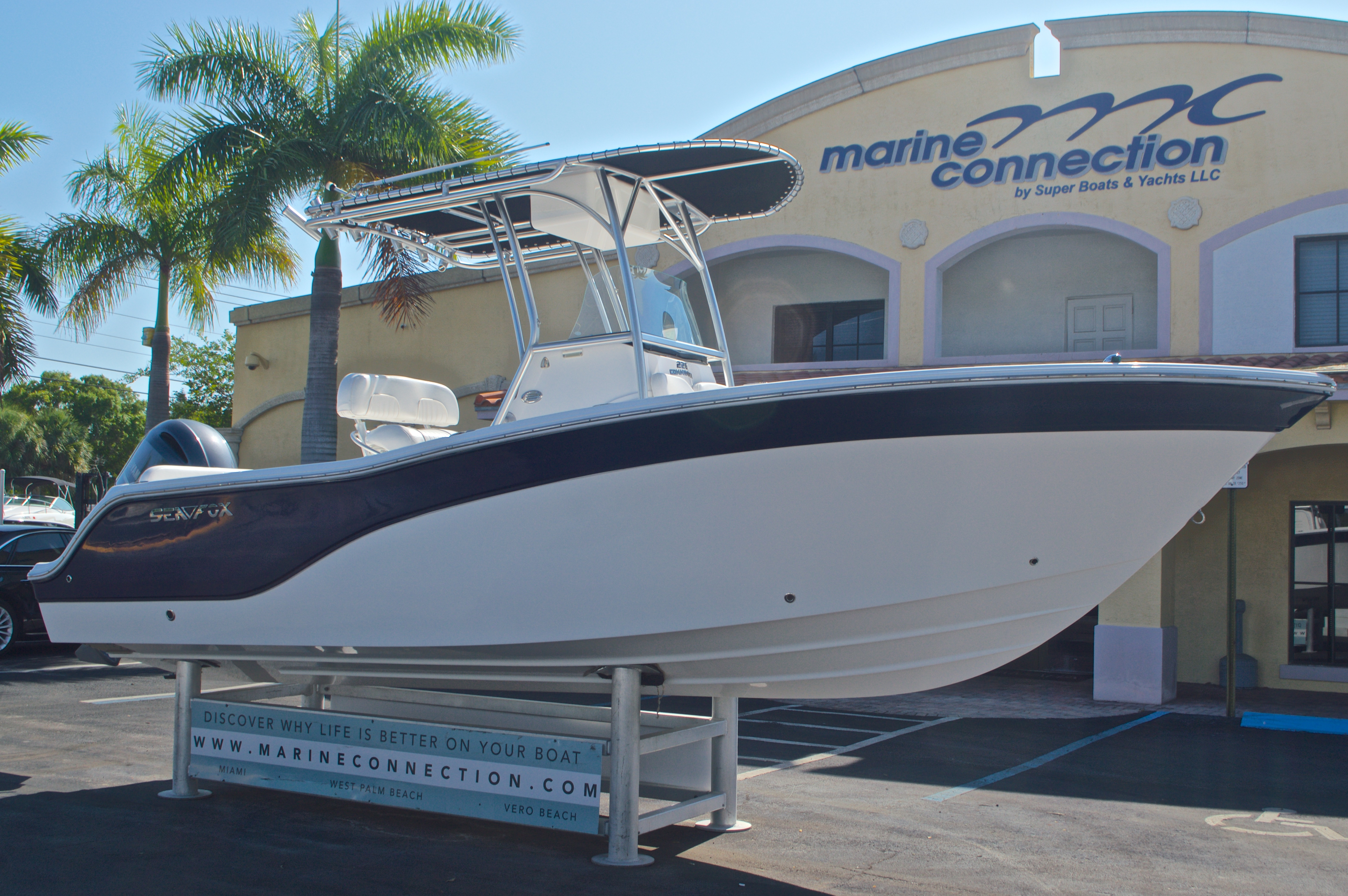 Thumbnail 1 for Used 2014 Sea Fox 226 Center Console boat for sale in West Palm Beach, FL