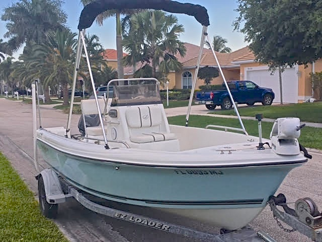 Thumbnail 1 for Used 2004 Sailfish 174 Center Console boat for sale in West Palm Beach, FL