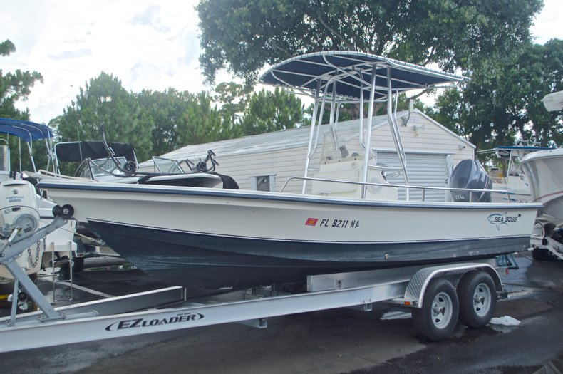 Used 2005 Sea Boss 21 Bay Boat boat for sale in West Palm Beach, FL