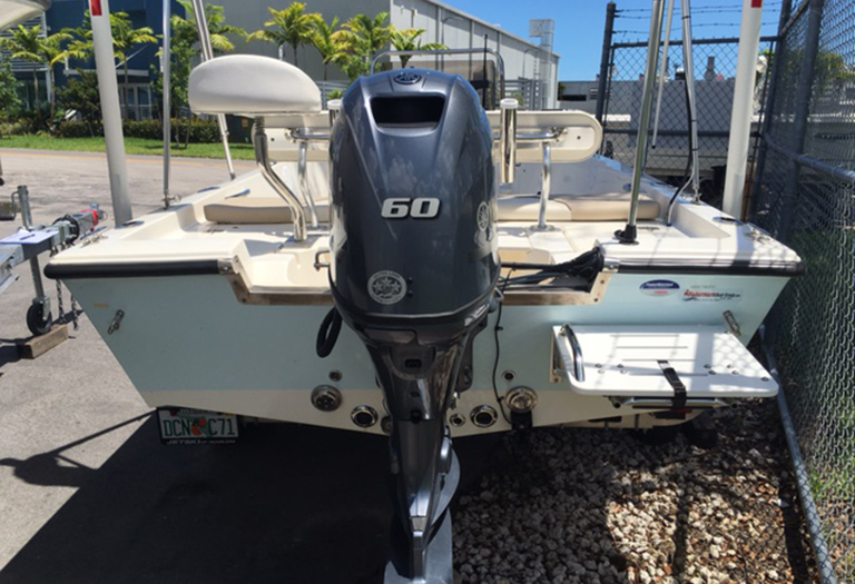 Thumbnail 4 for Used 2014 Key West 1520 Sportsman Center Console boat for sale in Miami, FL