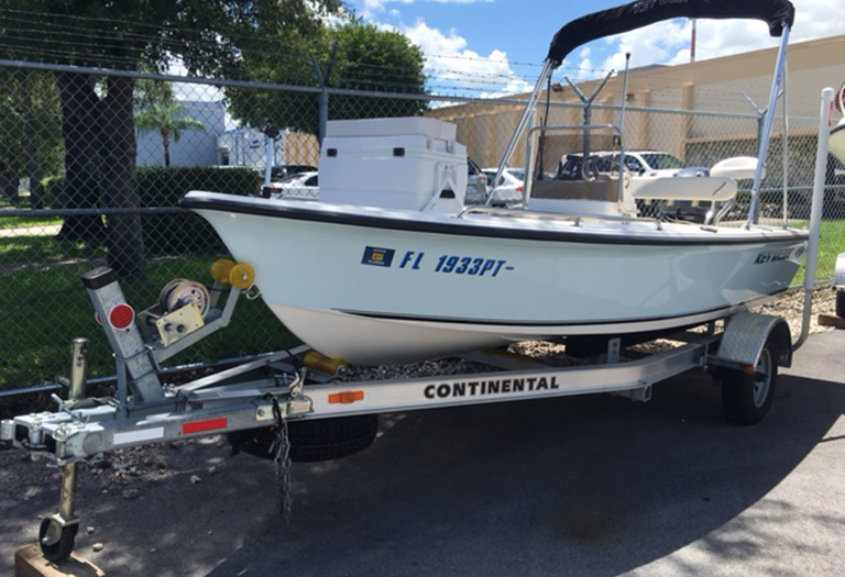 Used 2014 Key West 1520 Sportsman Center Console boat for sale in Miami, FL