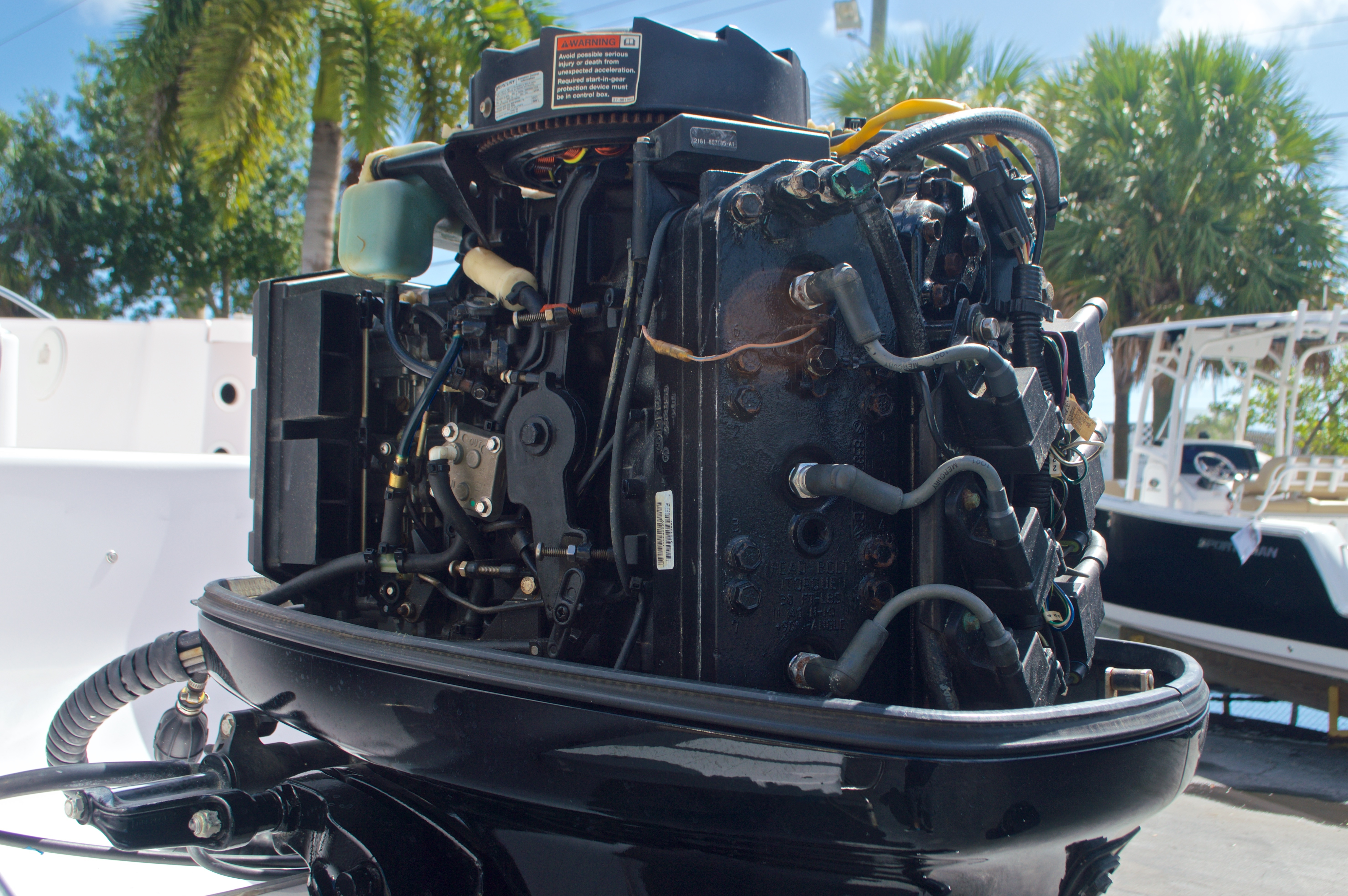 Thumbnail 10 for Used 2002 Pro-Line 22 Sport boat for sale in West Palm Beach, FL