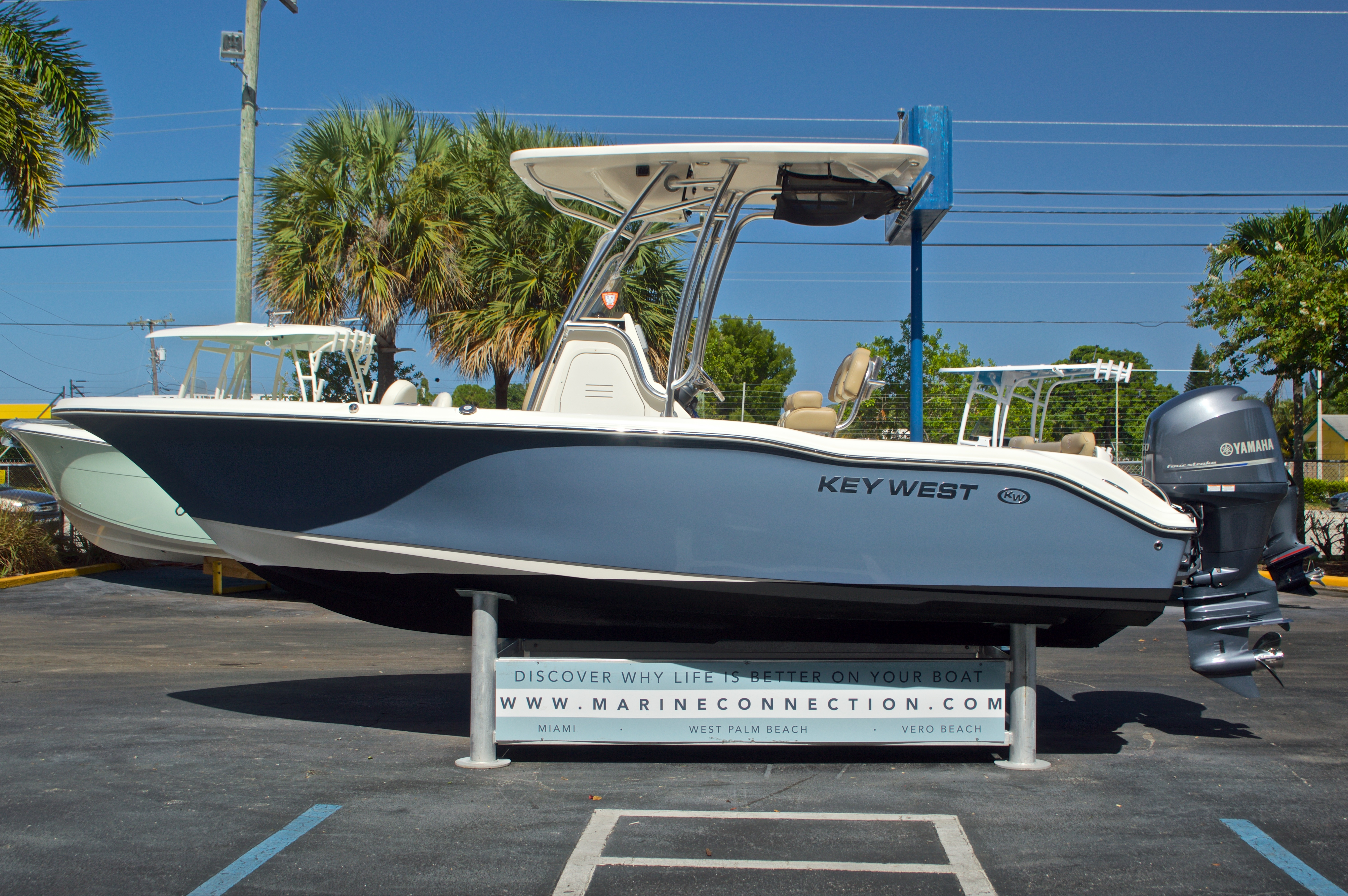 Thumbnail 5 for Used 2014 Key West 219 FS Center Console boat for sale in West Palm Beach, FL