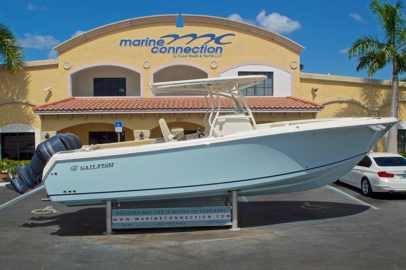 New 2017 Sailfish 290 CC Center Console boat for sale in Vero Beach, FL