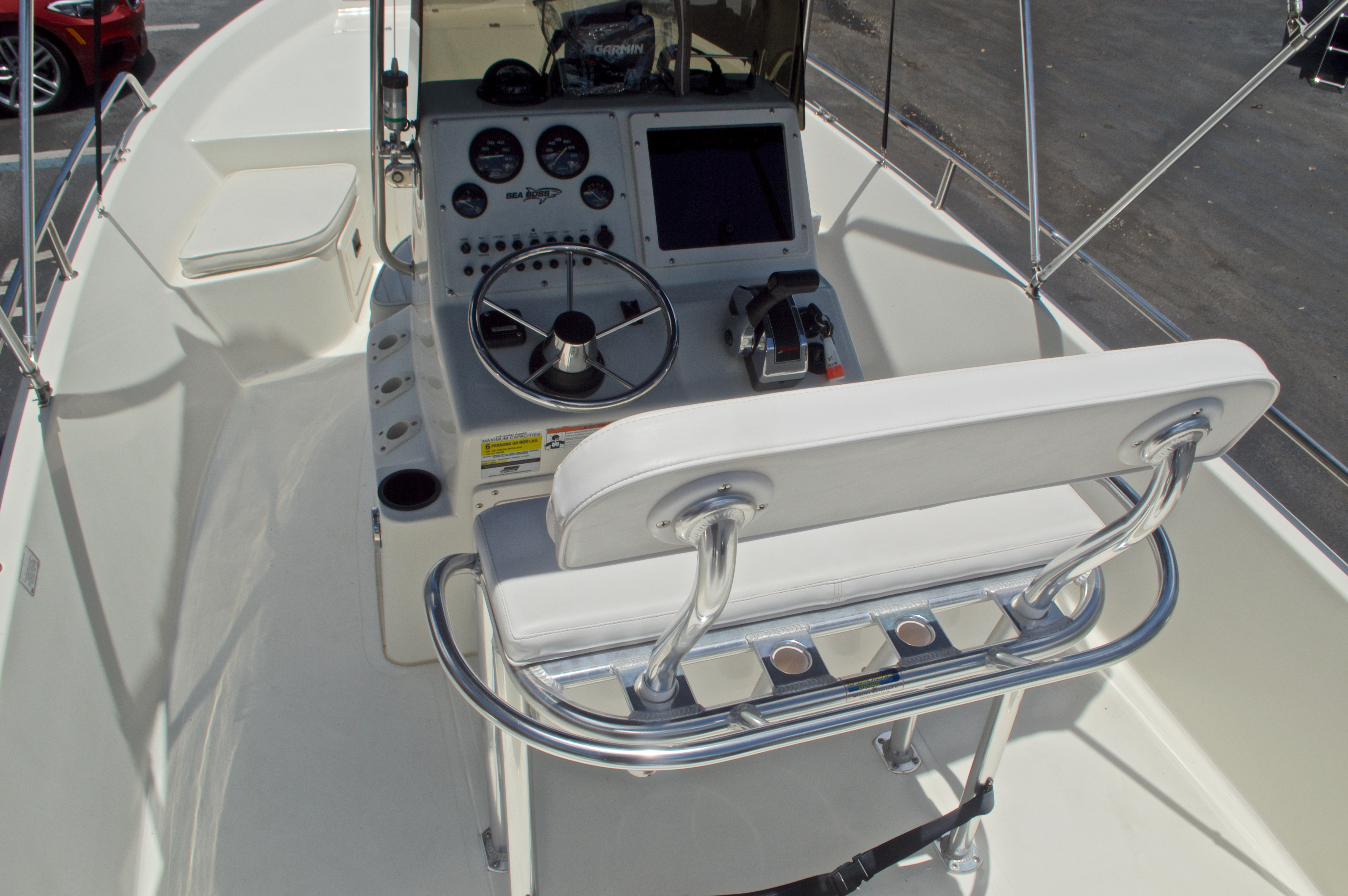 Thumbnail 15 for Used 2006 Sea Boss 190 Center Console boat for sale in West Palm Beach, FL