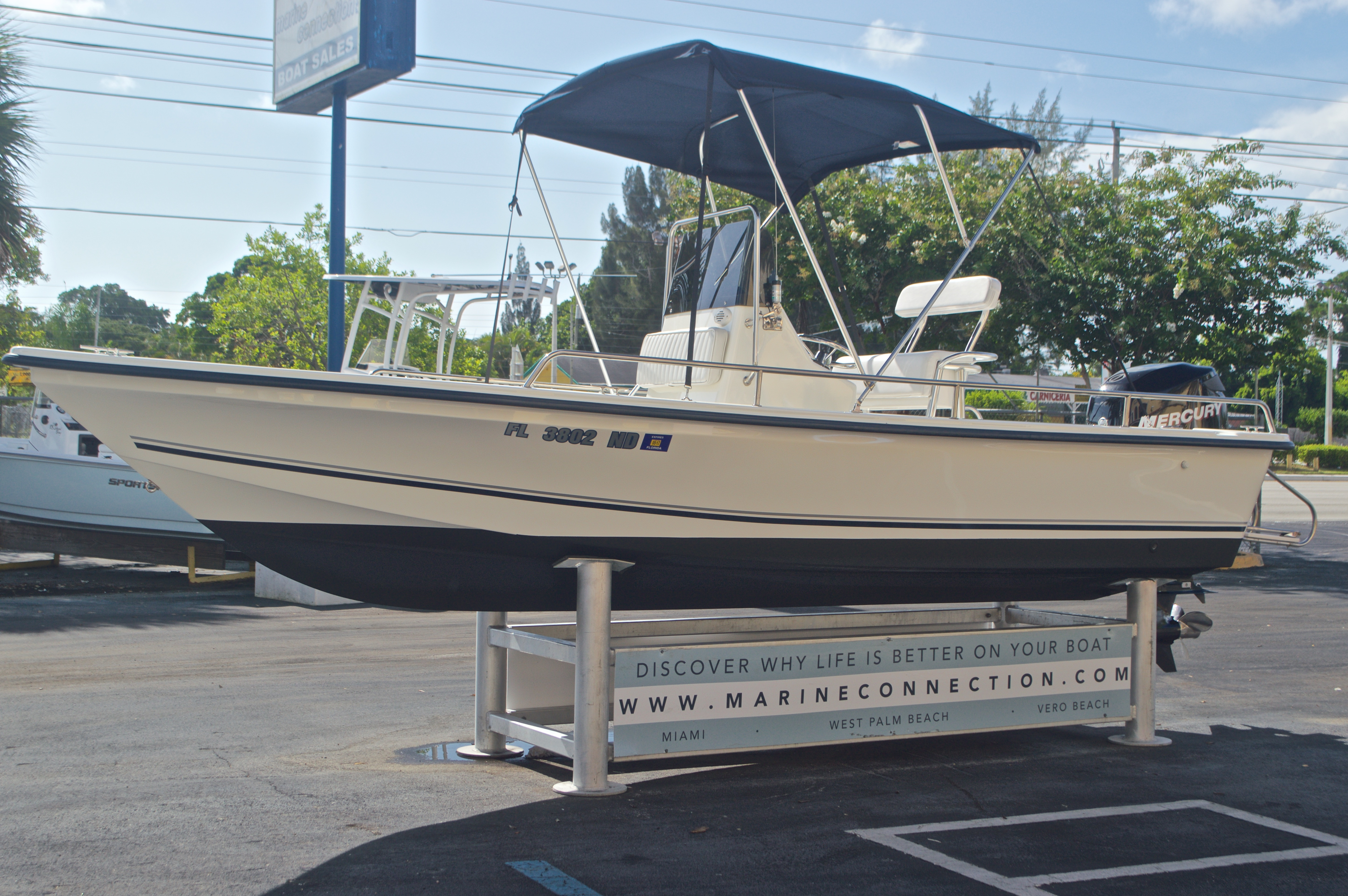 Thumbnail 3 for Used 2006 Sea Boss 190 Center Console boat for sale in West Palm Beach, FL