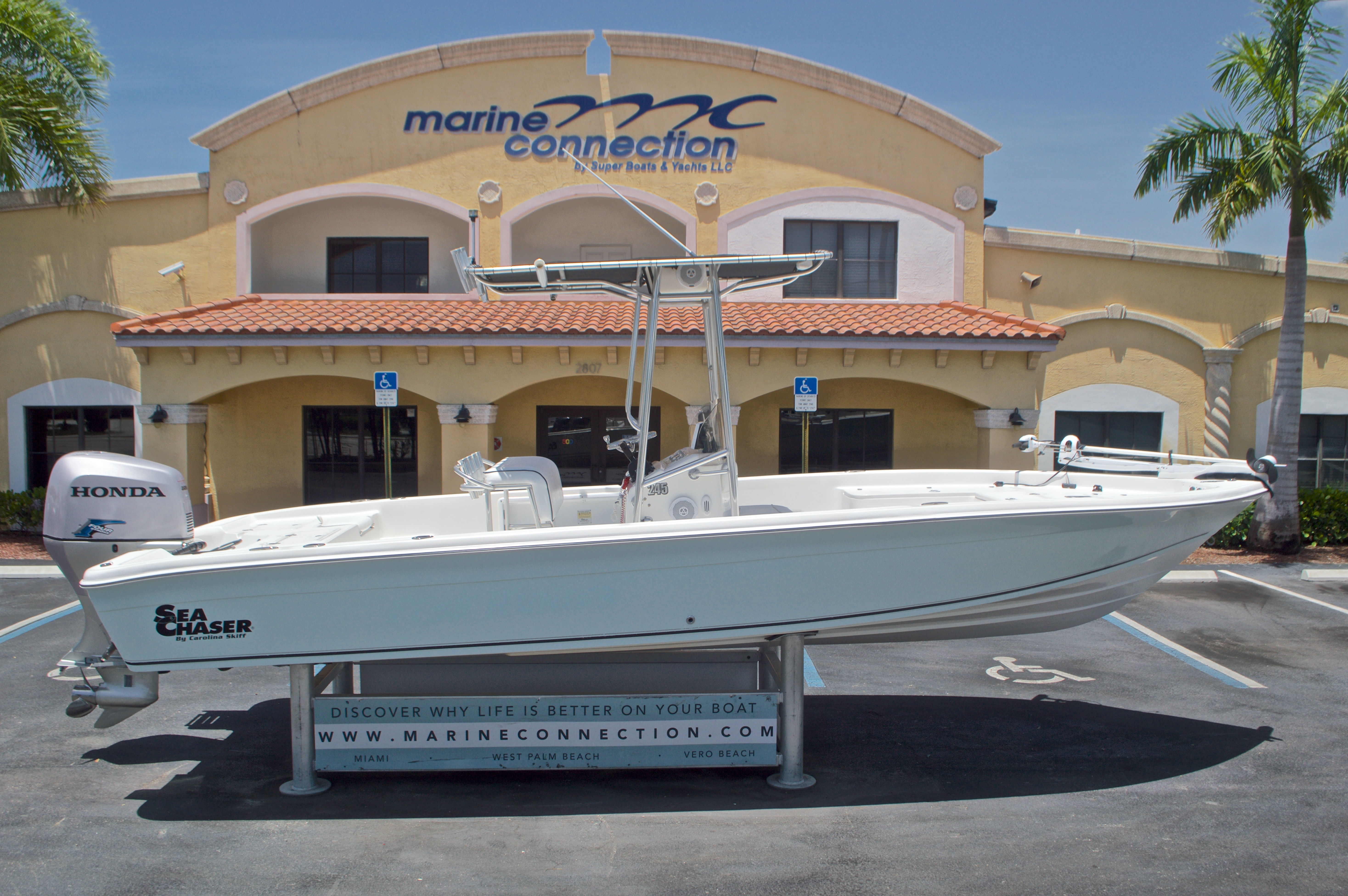 Used 2005 Sea Chaser 245 Bay Runner LX boat for sale in West Palm Beach, FL