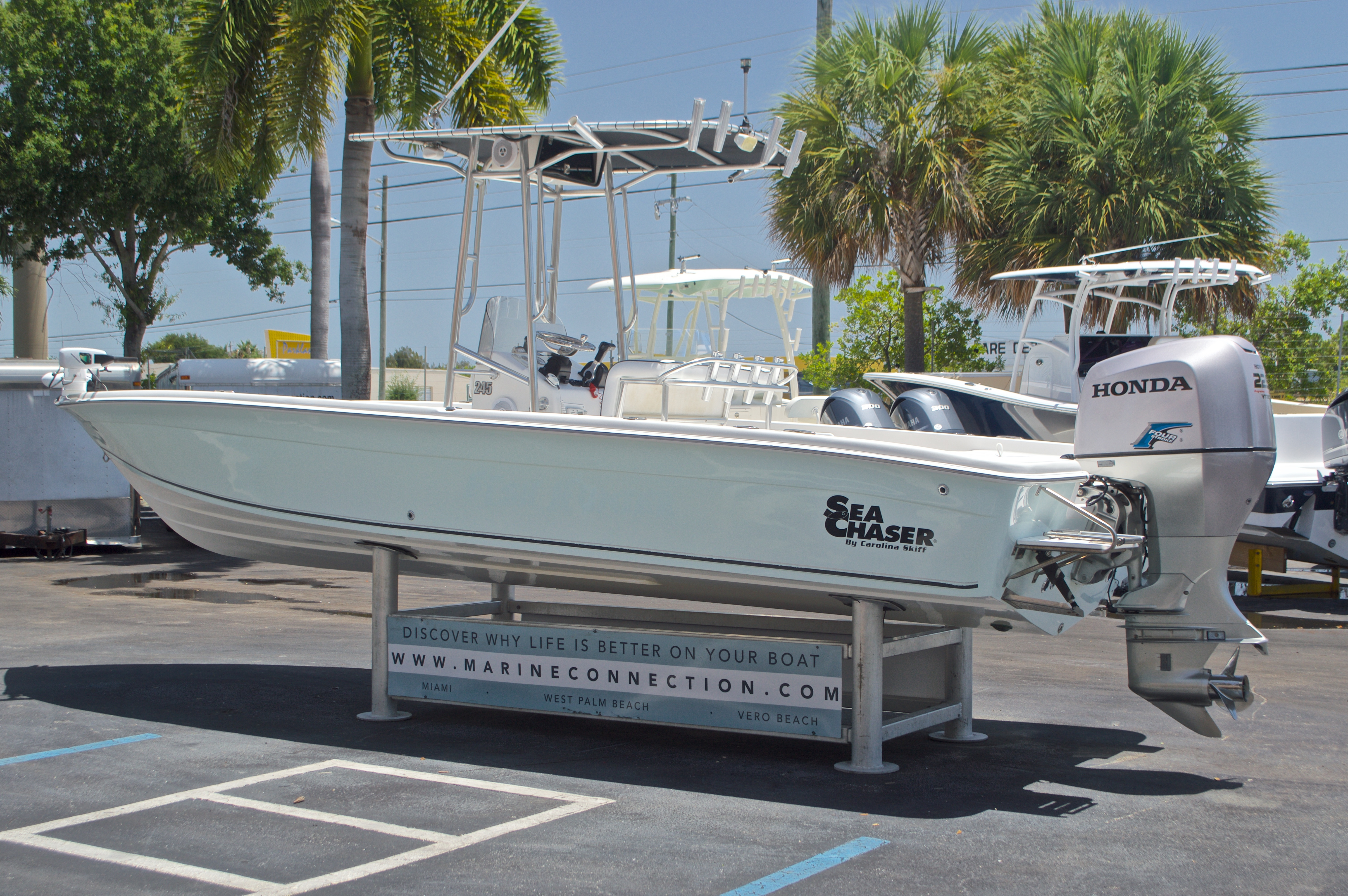 Thumbnail 5 for Used 2005 Sea Chaser 245 Bay Runner LX boat for sale in West Palm Beach, FL