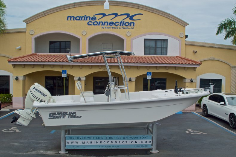 Used 2008 Carolina Skiff 198DLV boat for sale in West Palm Beach, FL