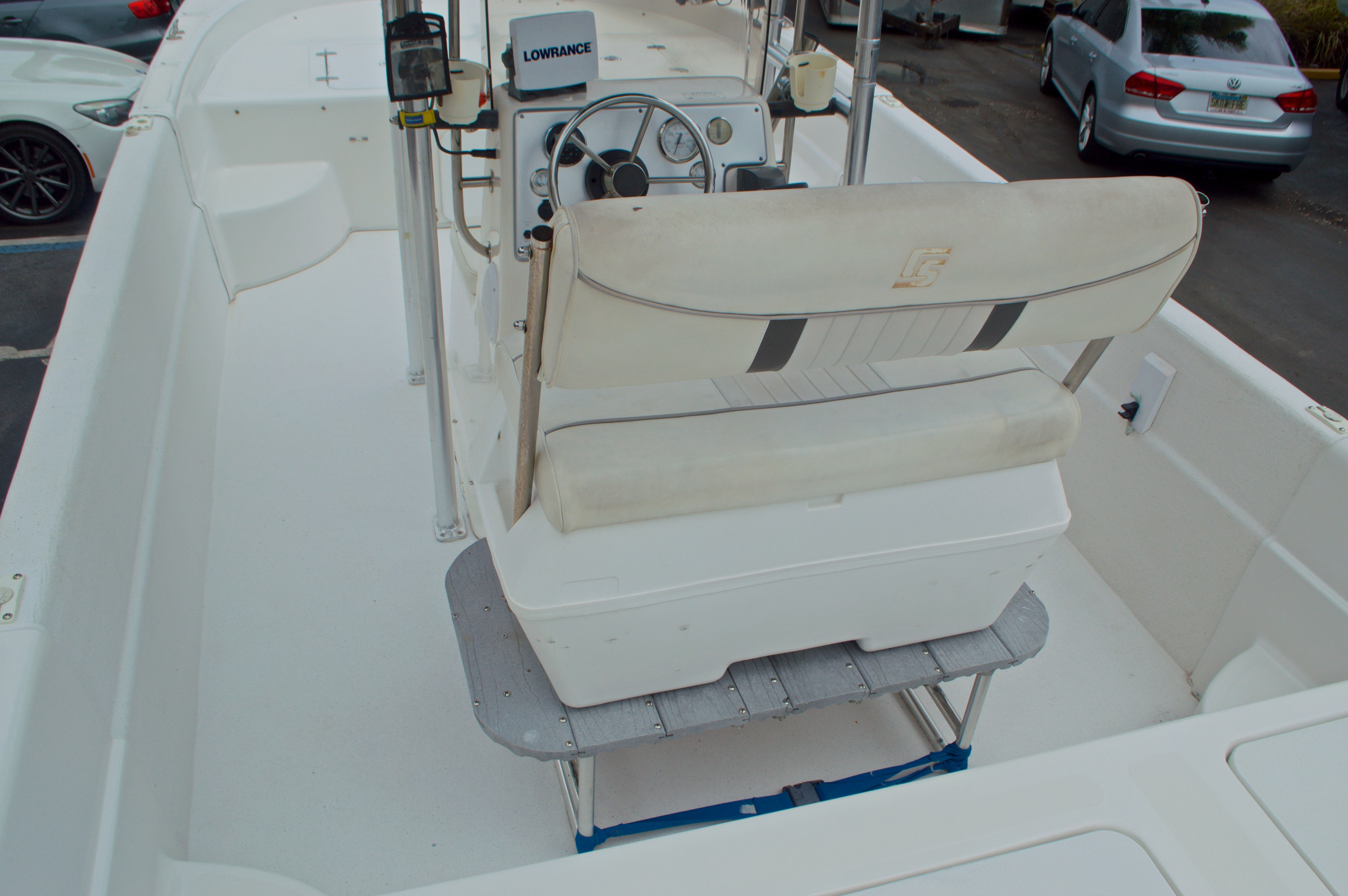 Thumbnail 8 for Used 2008 Carolina Skiff 198DLV boat for sale in West Palm Beach, FL