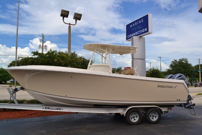 New 2017 Sailfish 270 CC Center Console boat for sale in Vero Beach, FL