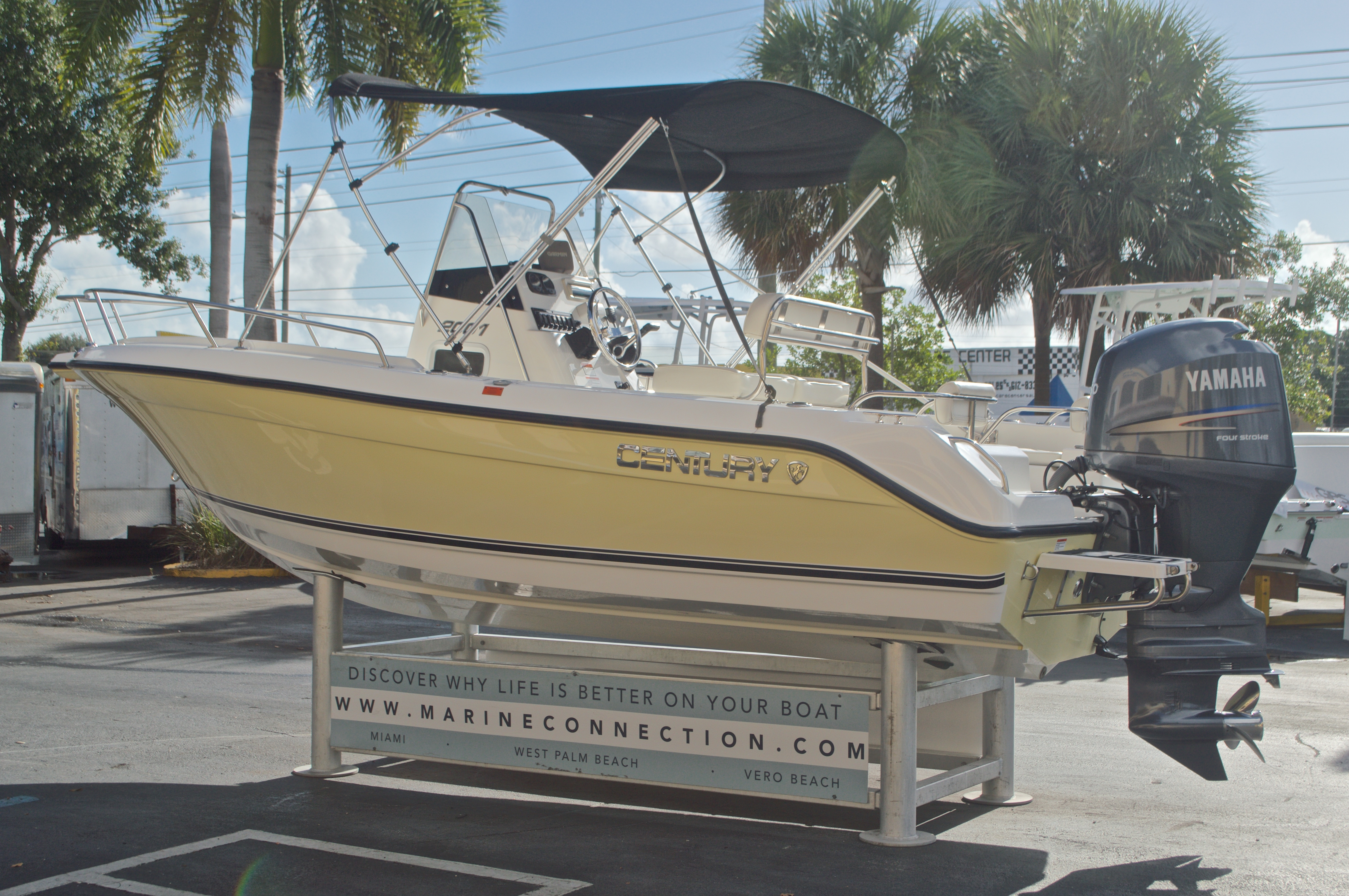 Thumbnail 5 for Used 2007 Century 2001 Center Console boat for sale in West Palm Beach, FL
