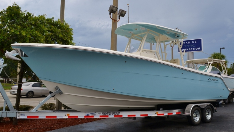 Thumbnail 1 for New 2017 Cobia 296 Center Console boat for sale in Vero Beach, FL