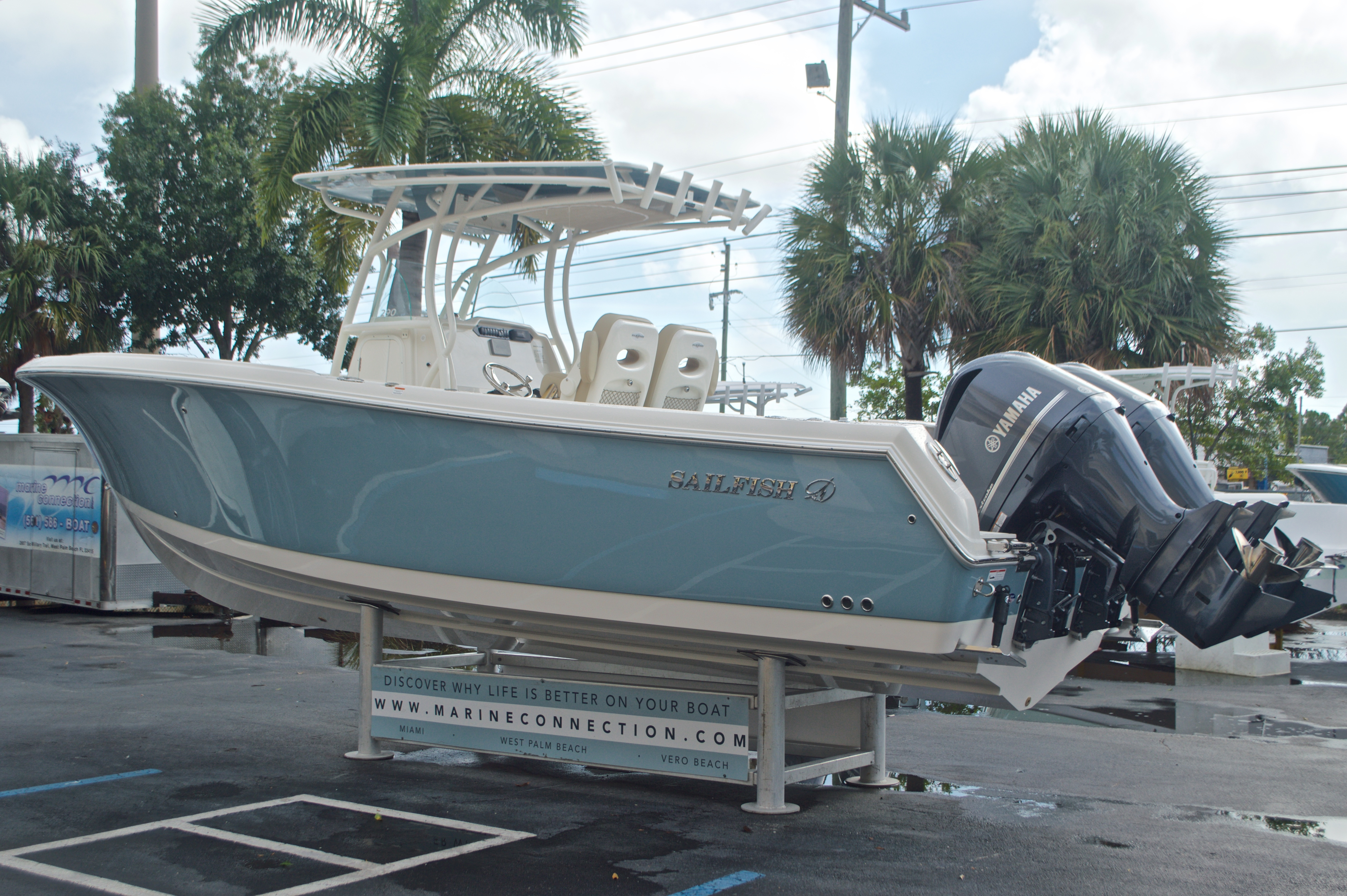 Thumbnail 6 for New 2017 Sailfish 290 CC Center Console boat for sale in Miami, FL