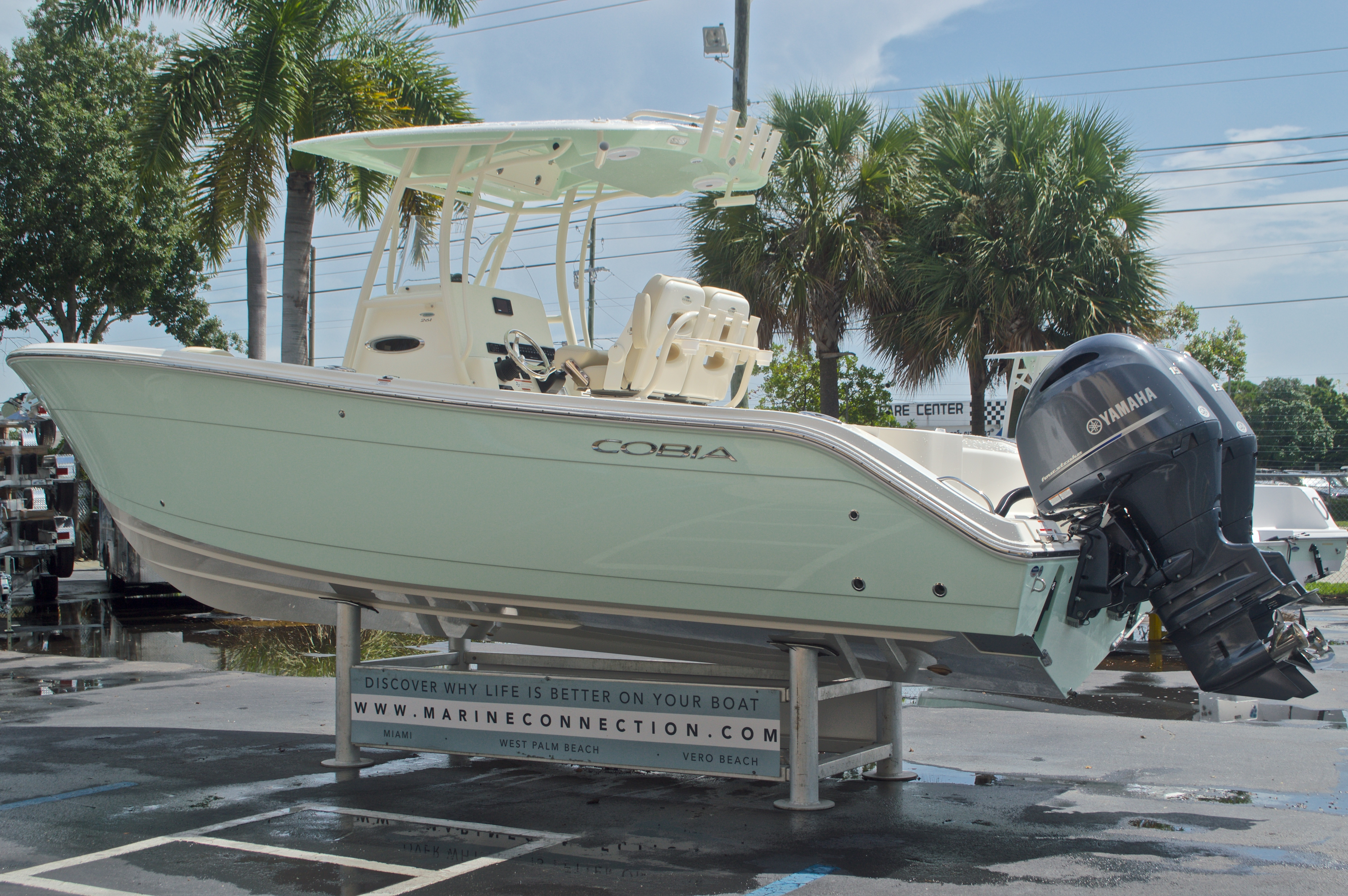 Thumbnail 6 for New 2017 Cobia 261 Center Console boat for sale in Miami, FL