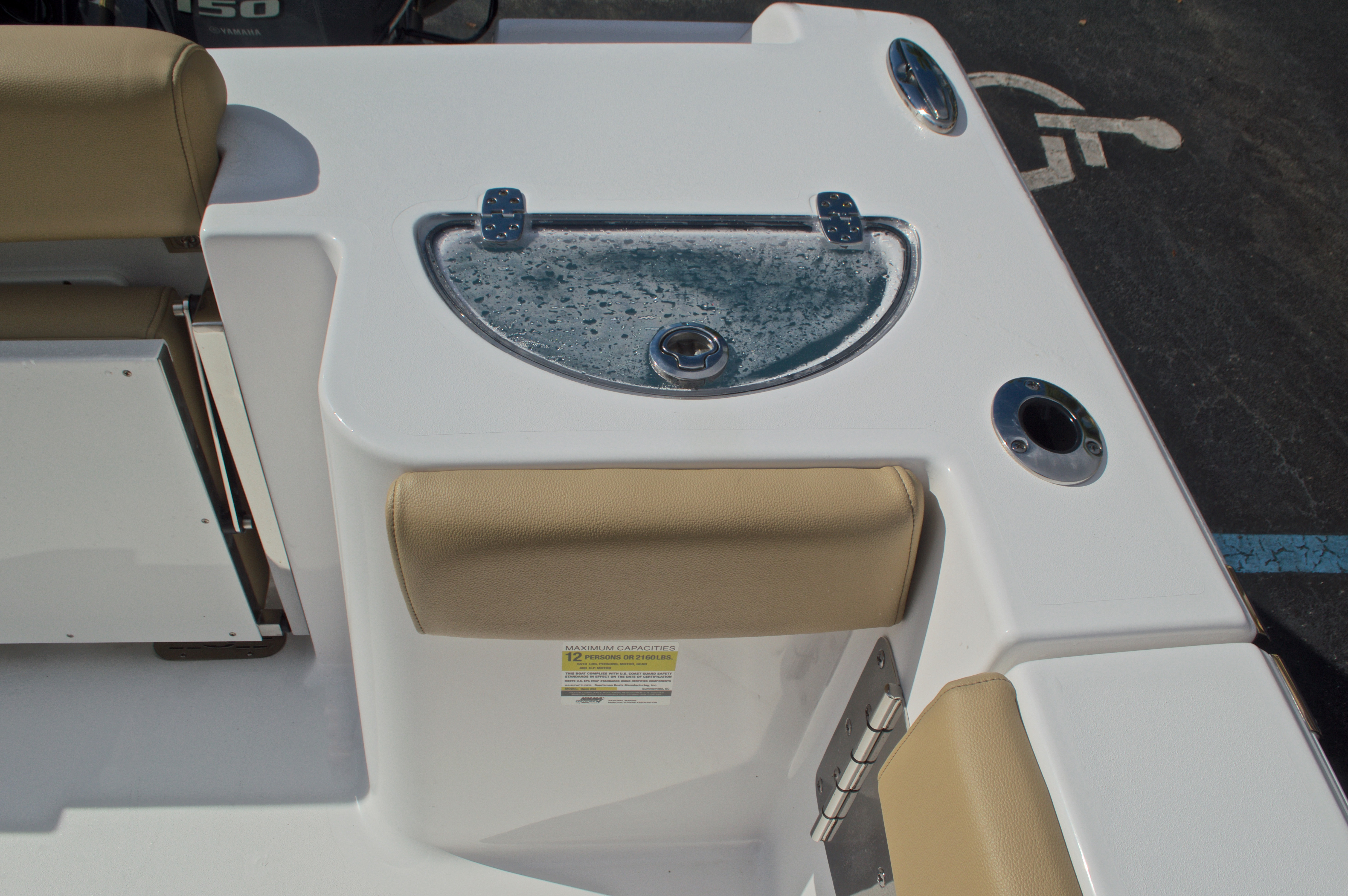 Thumbnail 17 for New 2017 Sportsman Open 252 Center Console boat for sale in Vero Beach, FL