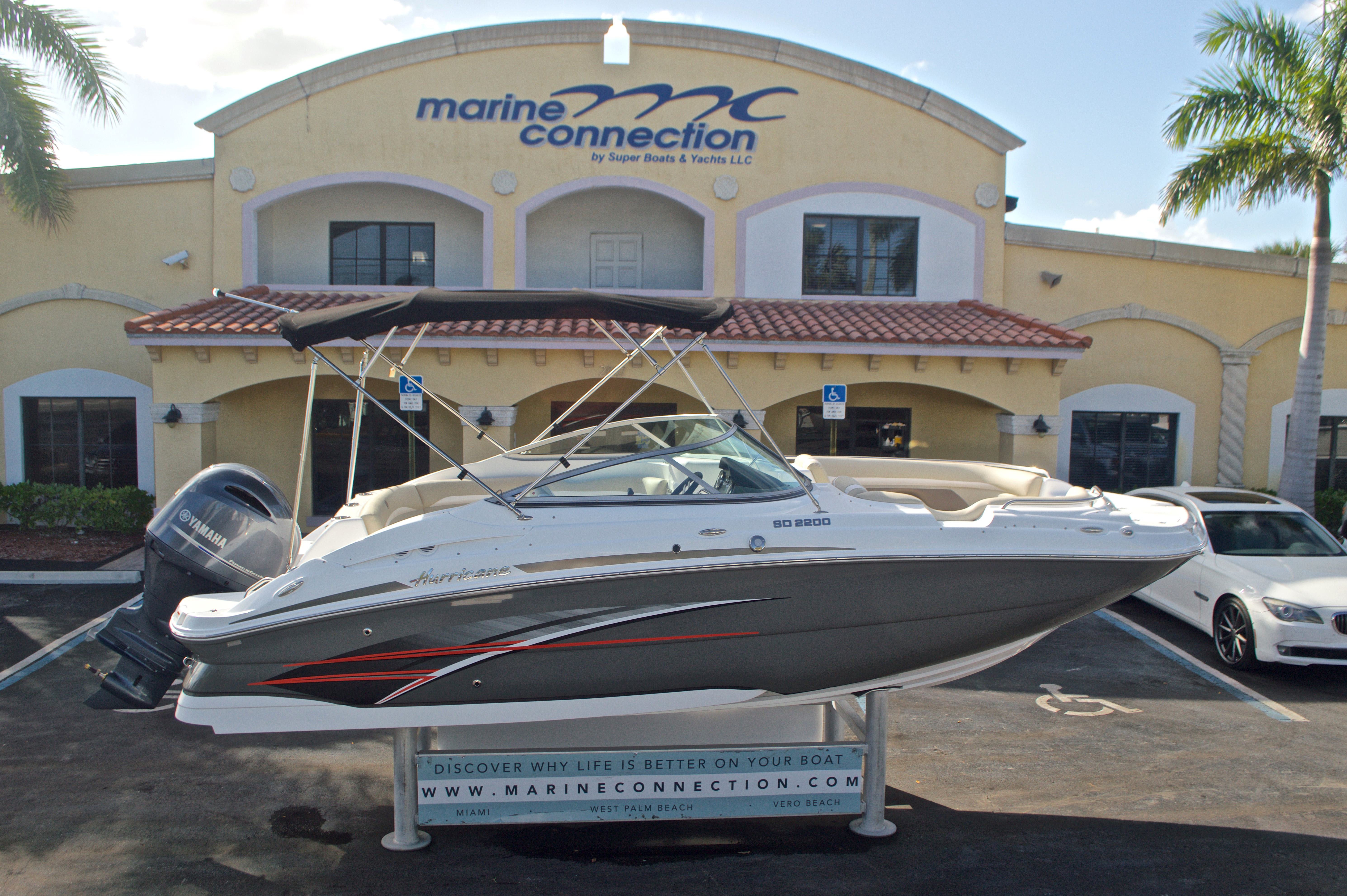 New 2017 Hurricane SunDeck SD 2200 OB boat for sale in West Palm Beach, FL