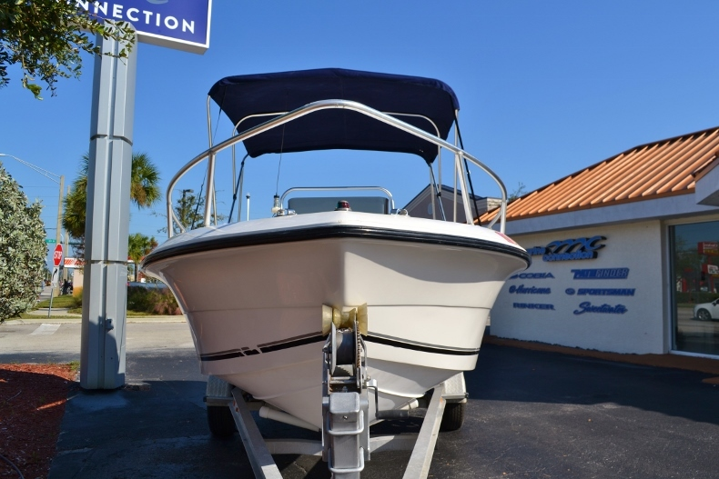 Thumbnail 2 for Used 2002 Angler 18 Center Console boat for sale in Vero Beach, FL