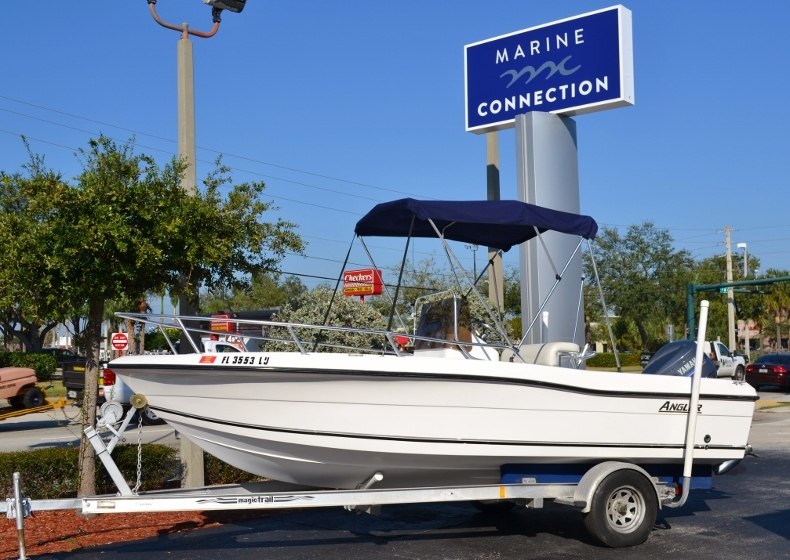 Used 2002 Angler 18 Center Console boat for sale in Vero Beach, FL