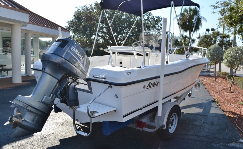 Thumbnail 5 for Used 2002 Angler 18 Center Console boat for sale in Vero Beach, FL