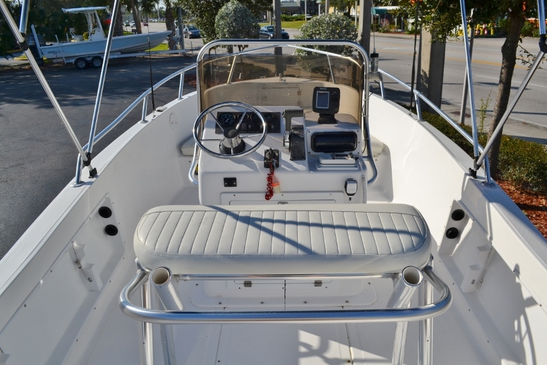 Thumbnail 7 for Used 2002 Angler 18 Center Console boat for sale in Vero Beach, FL