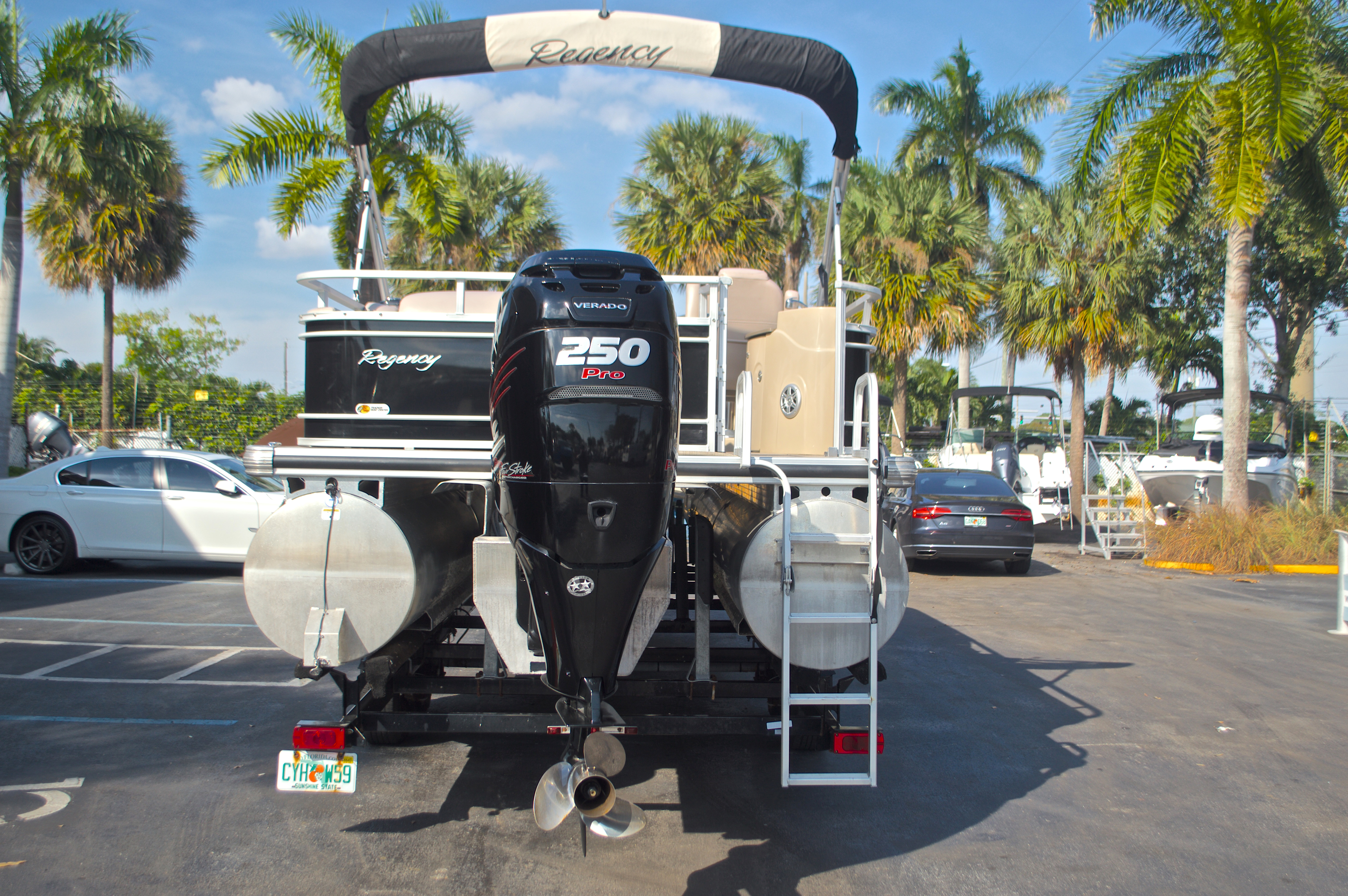 Thumbnail 11 for Used 2014 Regency Party Barge 254 XP3 boat for sale in West Palm Beach, FL