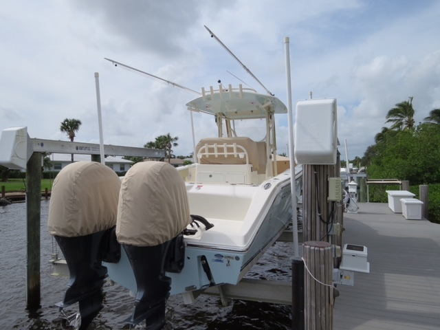 Thumbnail 21 for Used 2016 Cobia 277 Center Console boat for sale in Vero Beach, FL