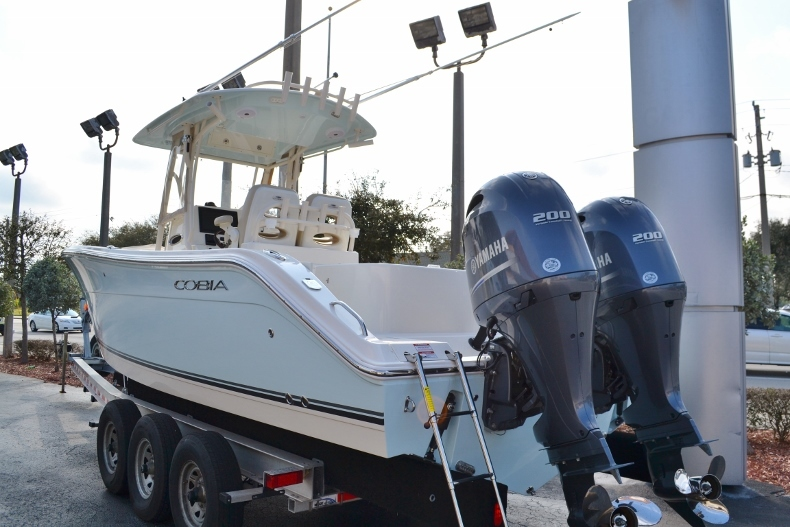 Thumbnail 2 for Used 2016 Cobia 277 Center Console boat for sale in Vero Beach, FL