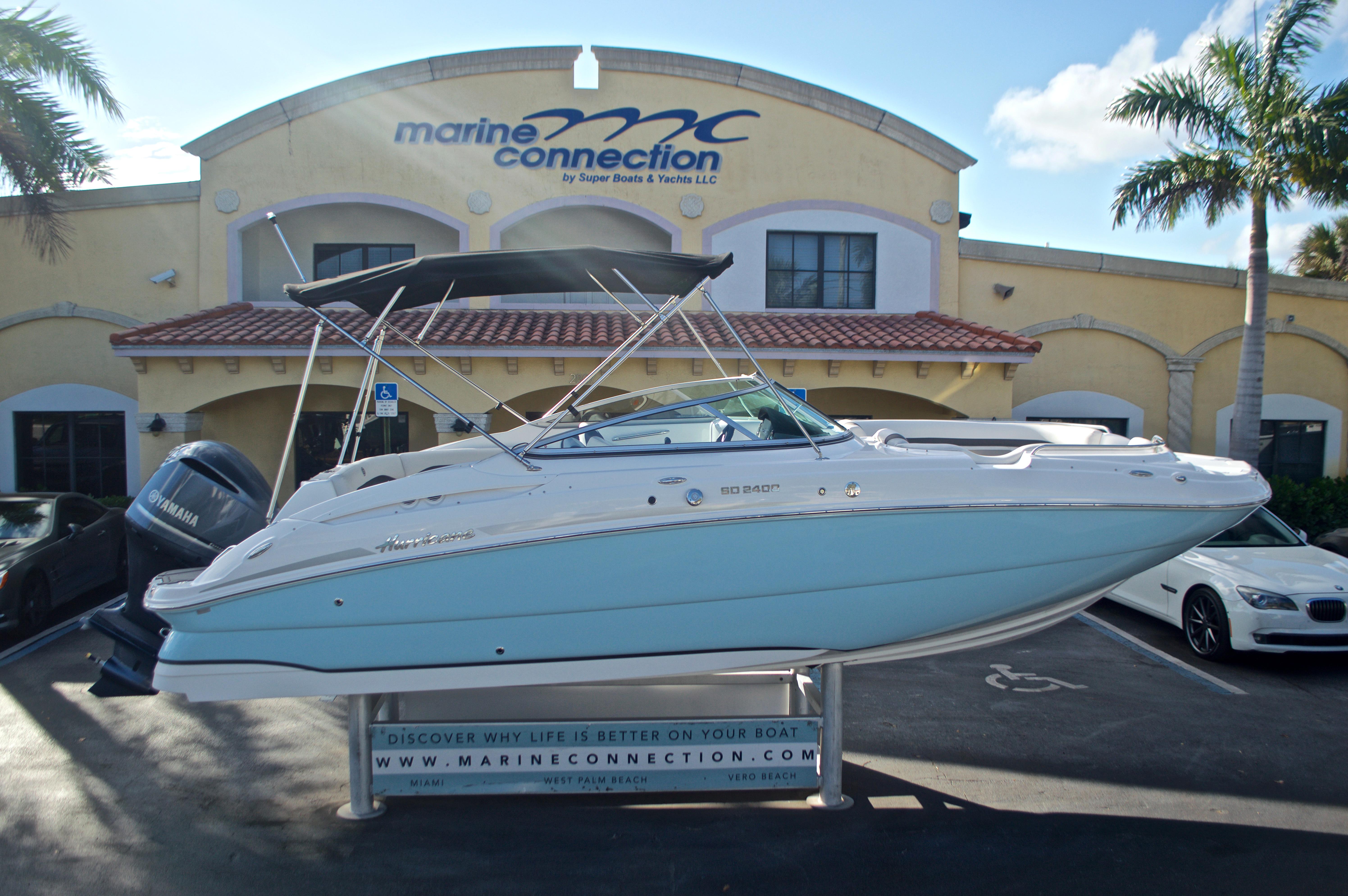 New 2017 Hurricane SunDeck SD 2400 OB boat for sale in Miami, FL