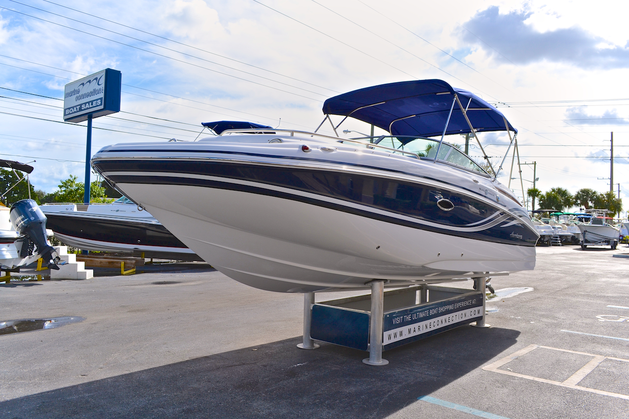 Used 2013 hurricane sundeck sd 2400 ob boat for sale in for Hurricane sundeck for sale