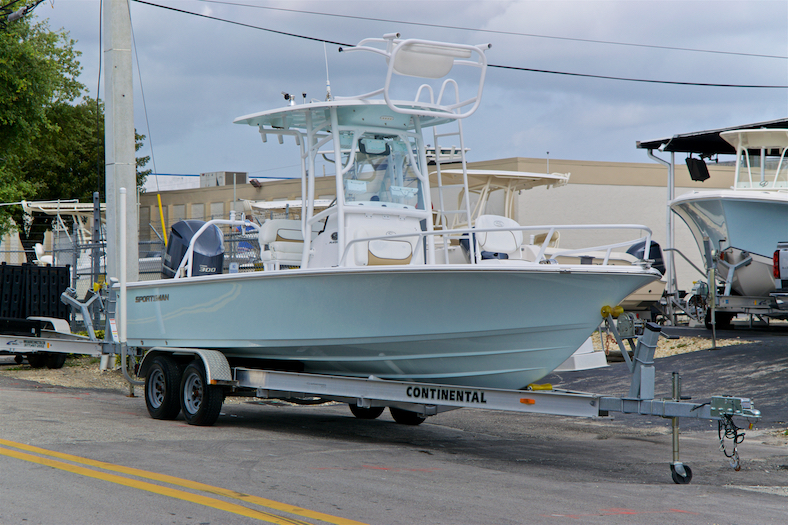 Thumbnail 1 for Used 2015 Sportsman Masters 247 Bay Boat boat for sale in Vero Beach, FL