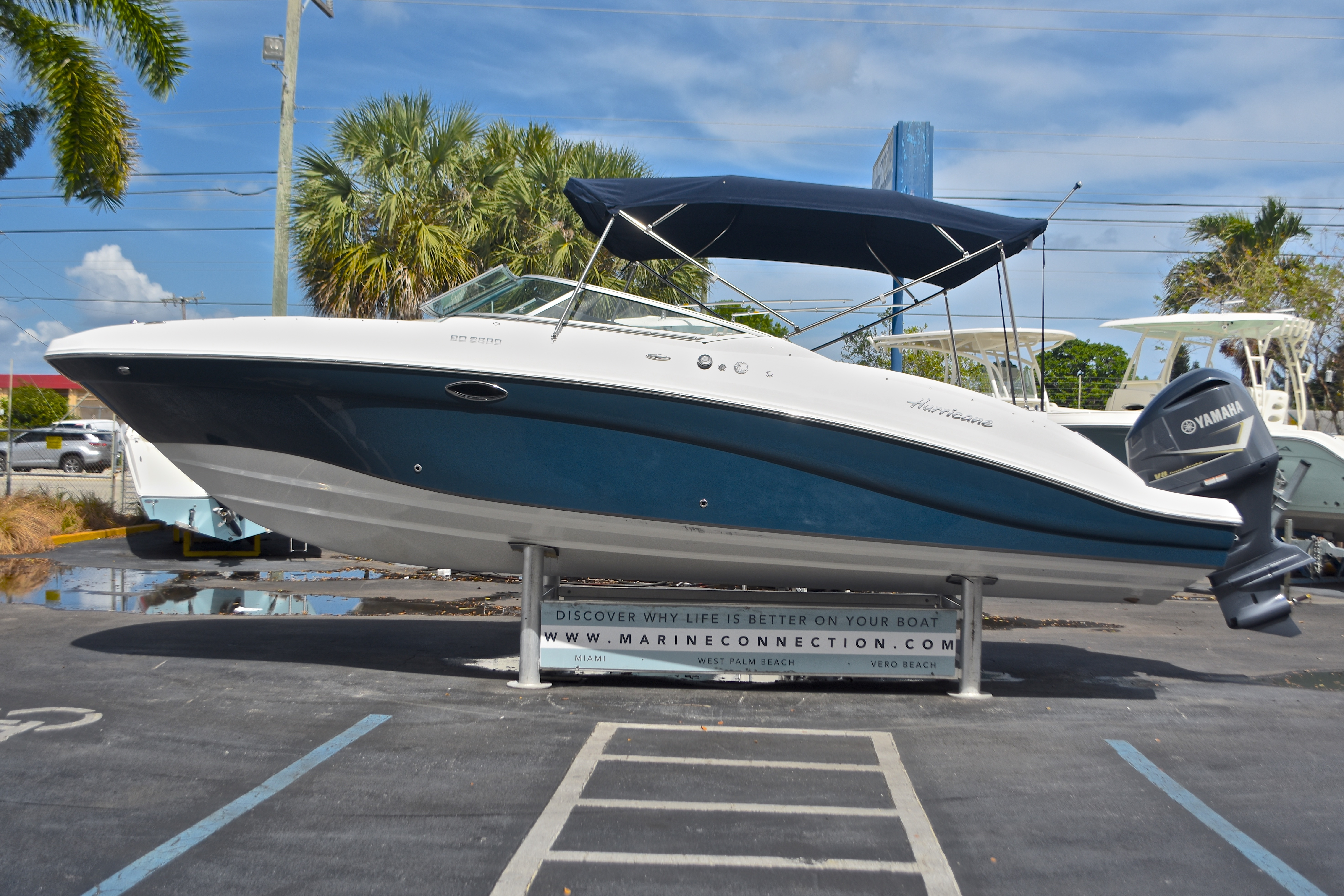 New 2017 hurricane sundeck sd 2690 ob boat for sale in for Hurricane sundeck for sale