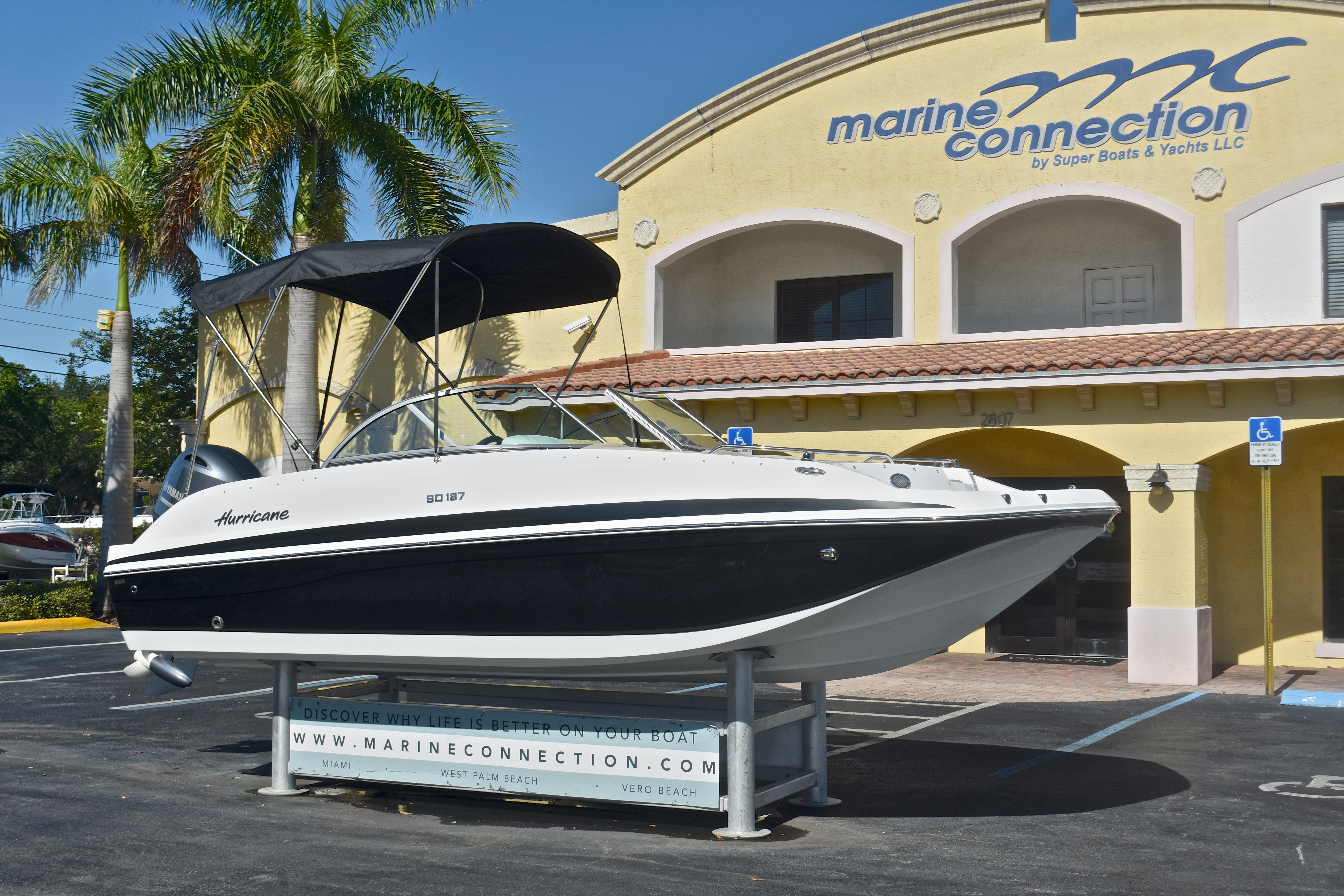 Thumbnail 1 for New 2017 Hurricane SunDeck SD 187 OB boat for sale in West Palm Beach, FL