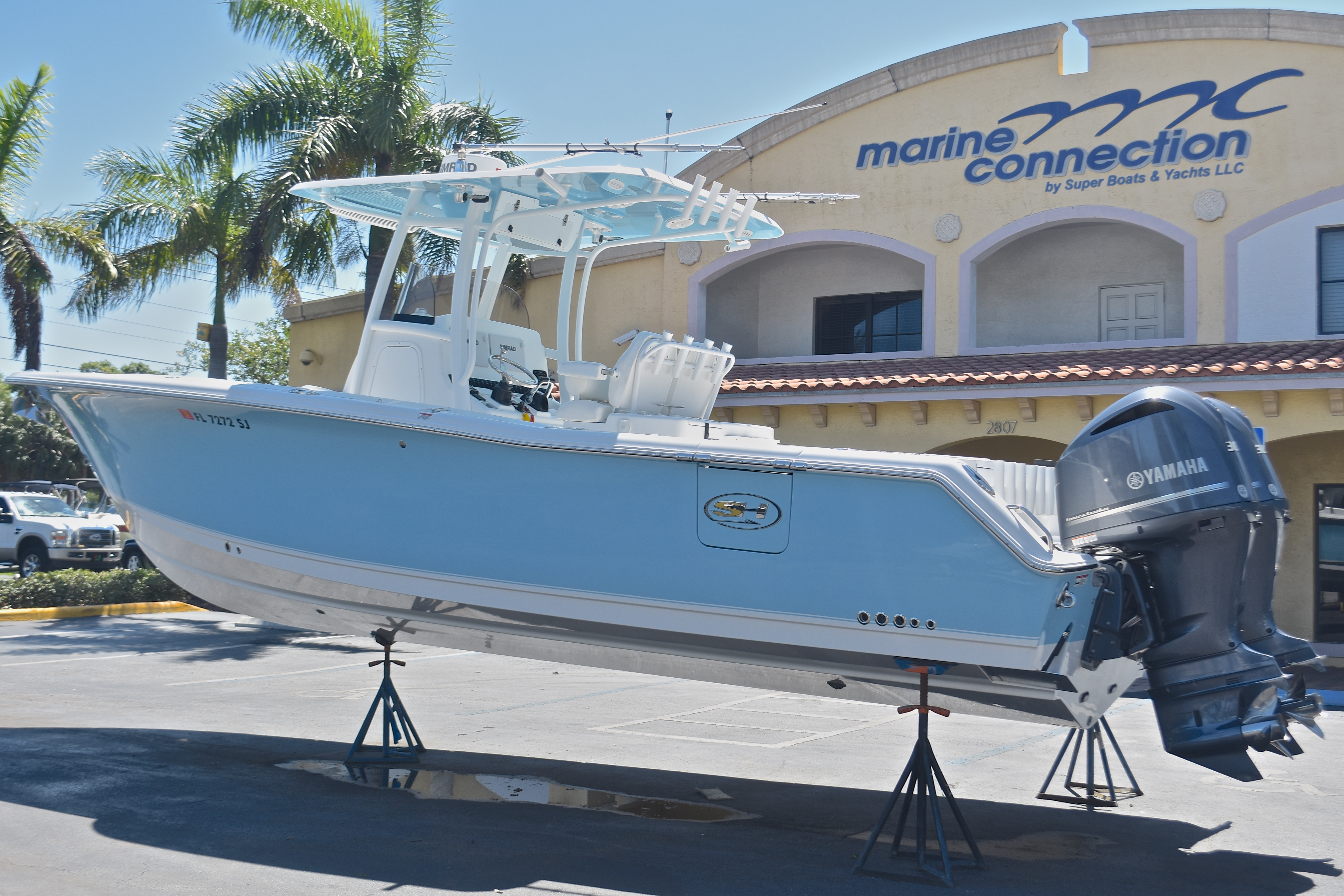 Thumbnail 1 for Used 2015 Sea Hunt Game Fish 30 Center Console boat for sale in West Palm Beach, FL