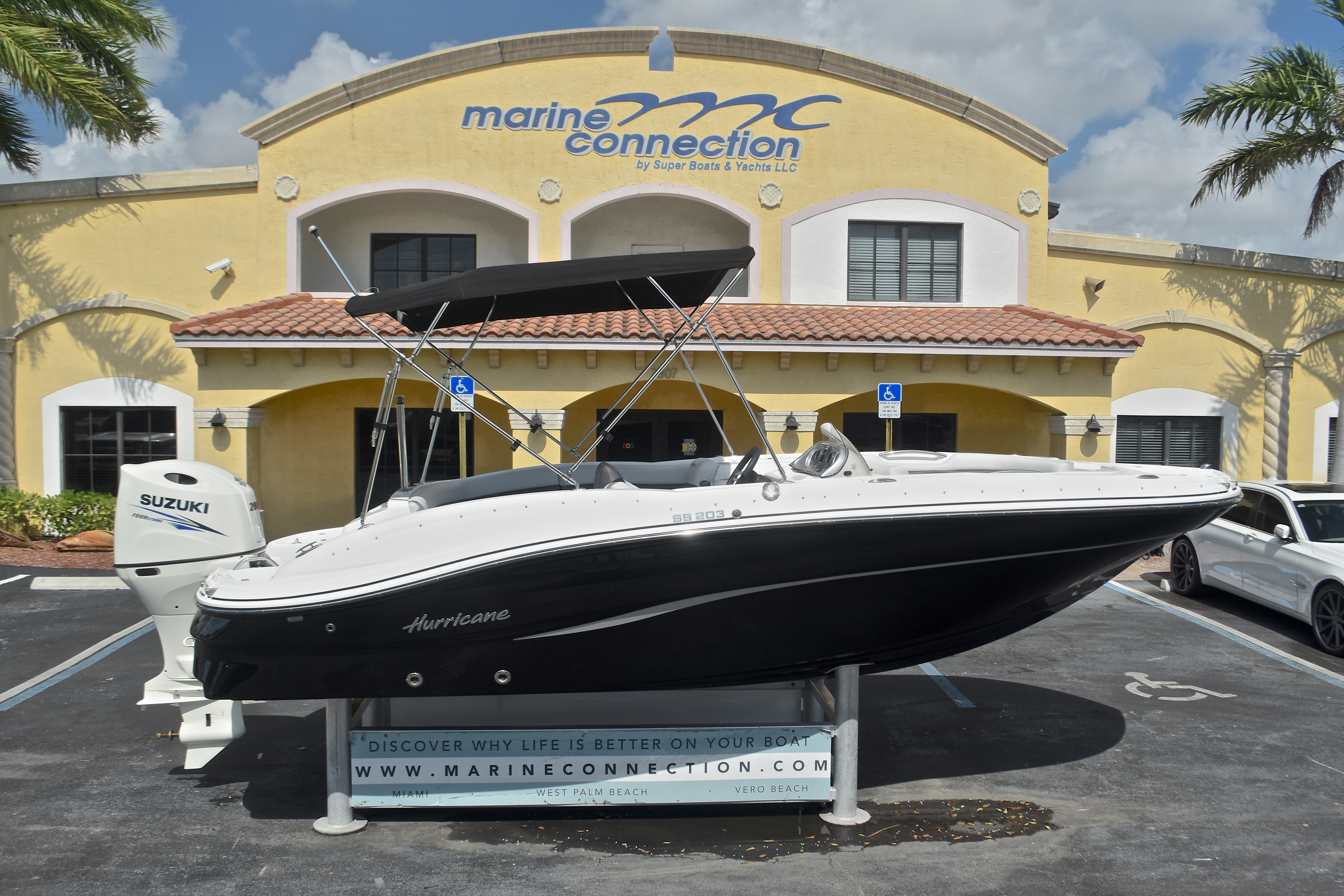 New 2017 Hurricane SunDeck Sport SS 203 OB boat for sale in West Palm Beach, FL