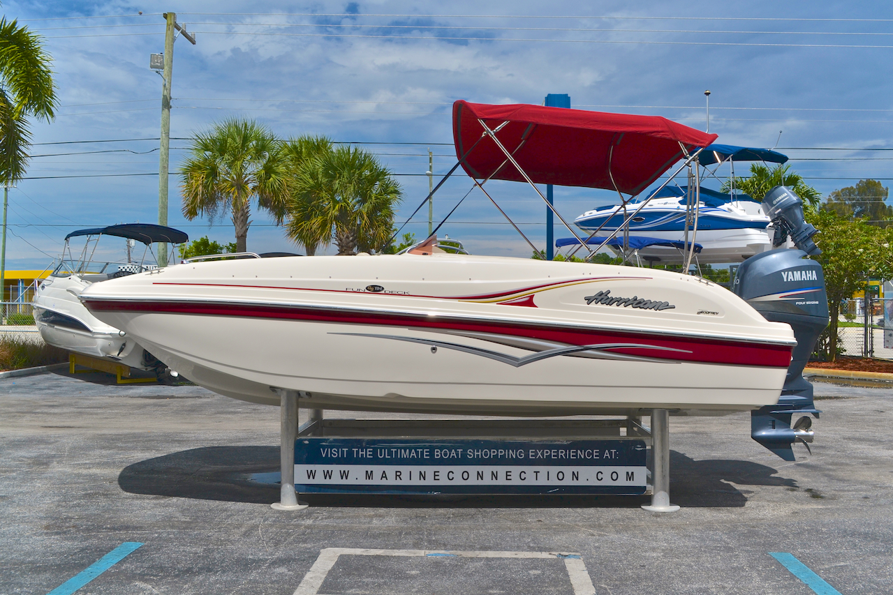 Used 2007 Hurricane Fundeck Gs 194 Ob Boat For Sale In West Palm Beach Fl 6521 New Amp Used