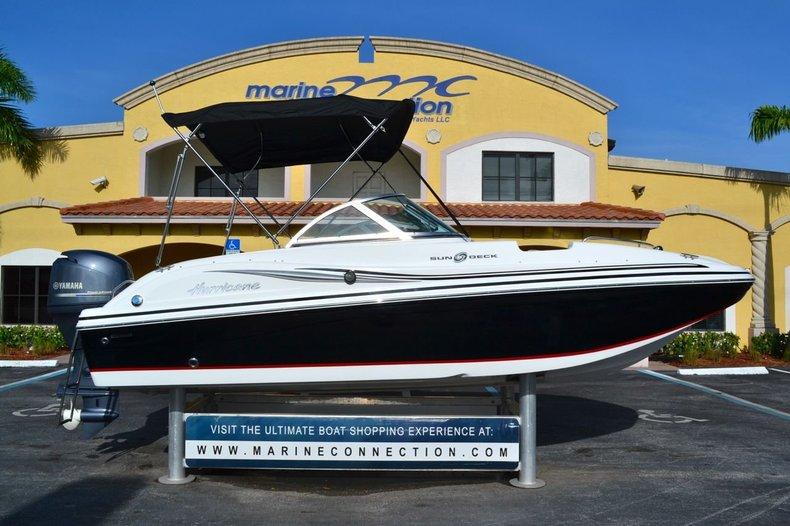New 2014 Hurricane SunDeck SD 187 OB boat for sale in Miami, FL