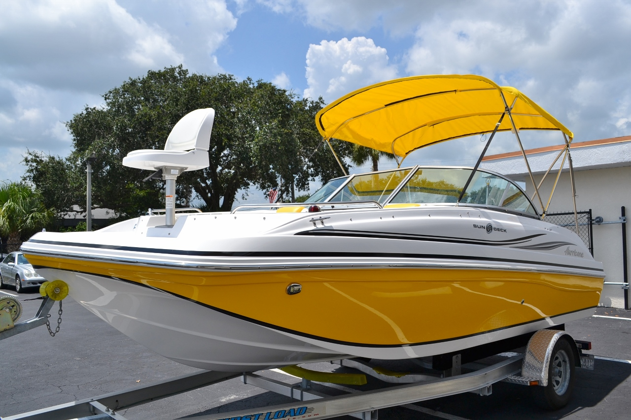 New 2014 hurricane sundeck sd 187 ob boat for sale in west for Hurricane sundeck for sale