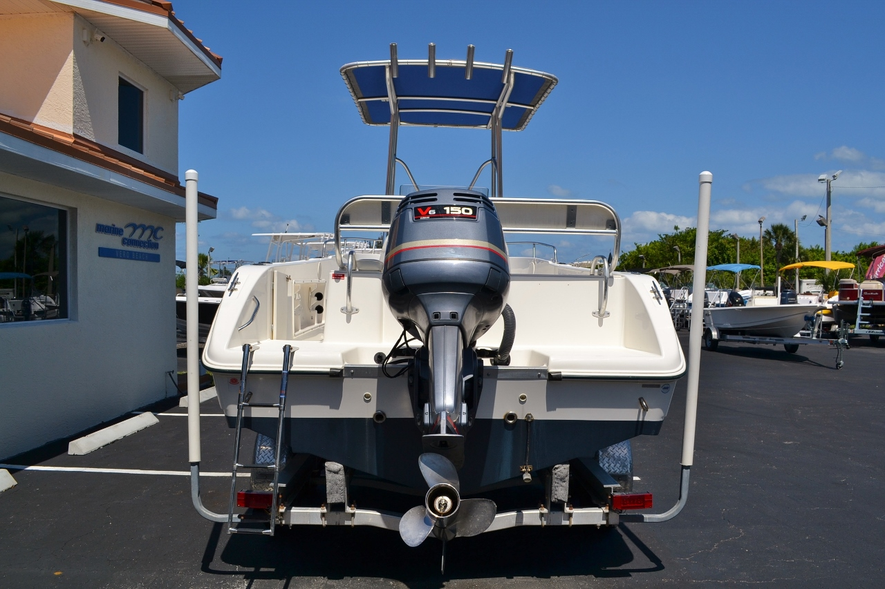 Used 2003 cobia 214 center console boat for sale in vero for Yamaha capital one customer service