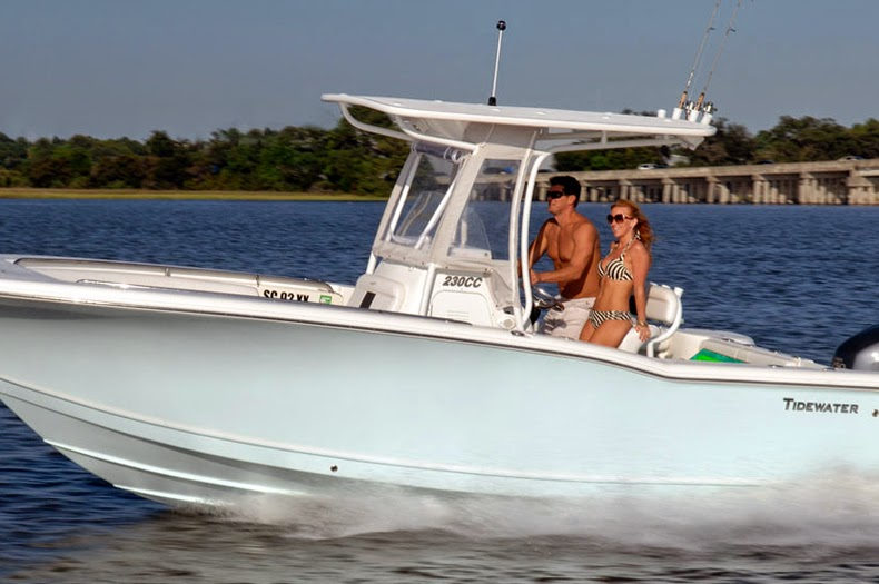 New 2014 tidewater 230 cc adventure center console boat for Tidewater 230 for sale