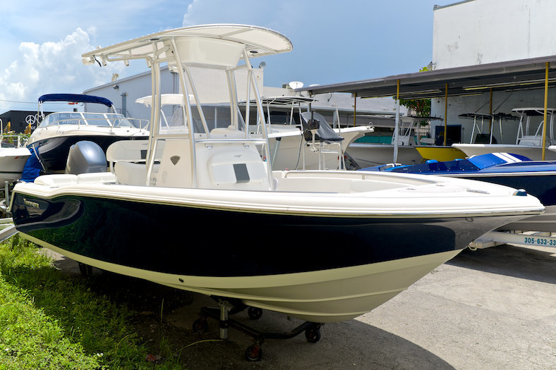 New 2014 tidewater 210 lxf center console boat for sale in for Yamaha dealer miami
