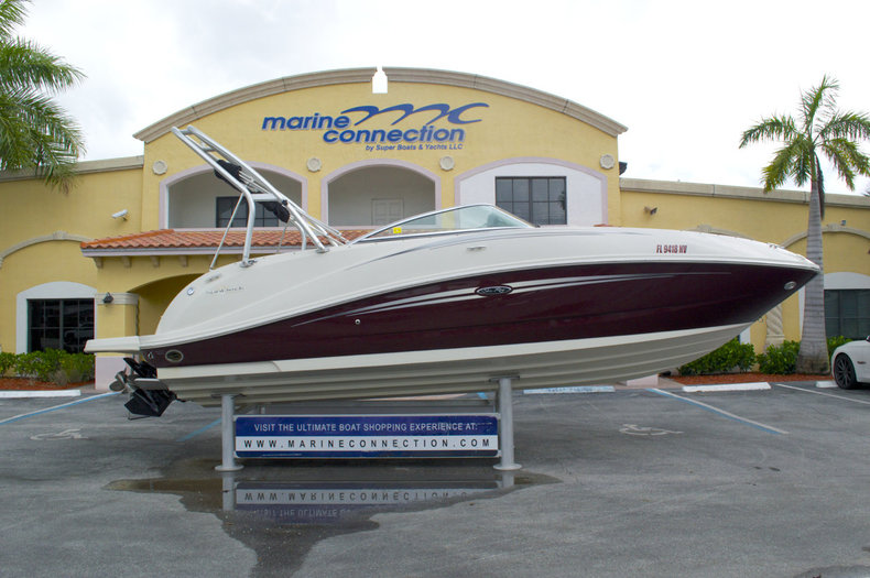 Used 2008 Sea Ray 260 Sundeck boat for sale in West Palm Beach, FL