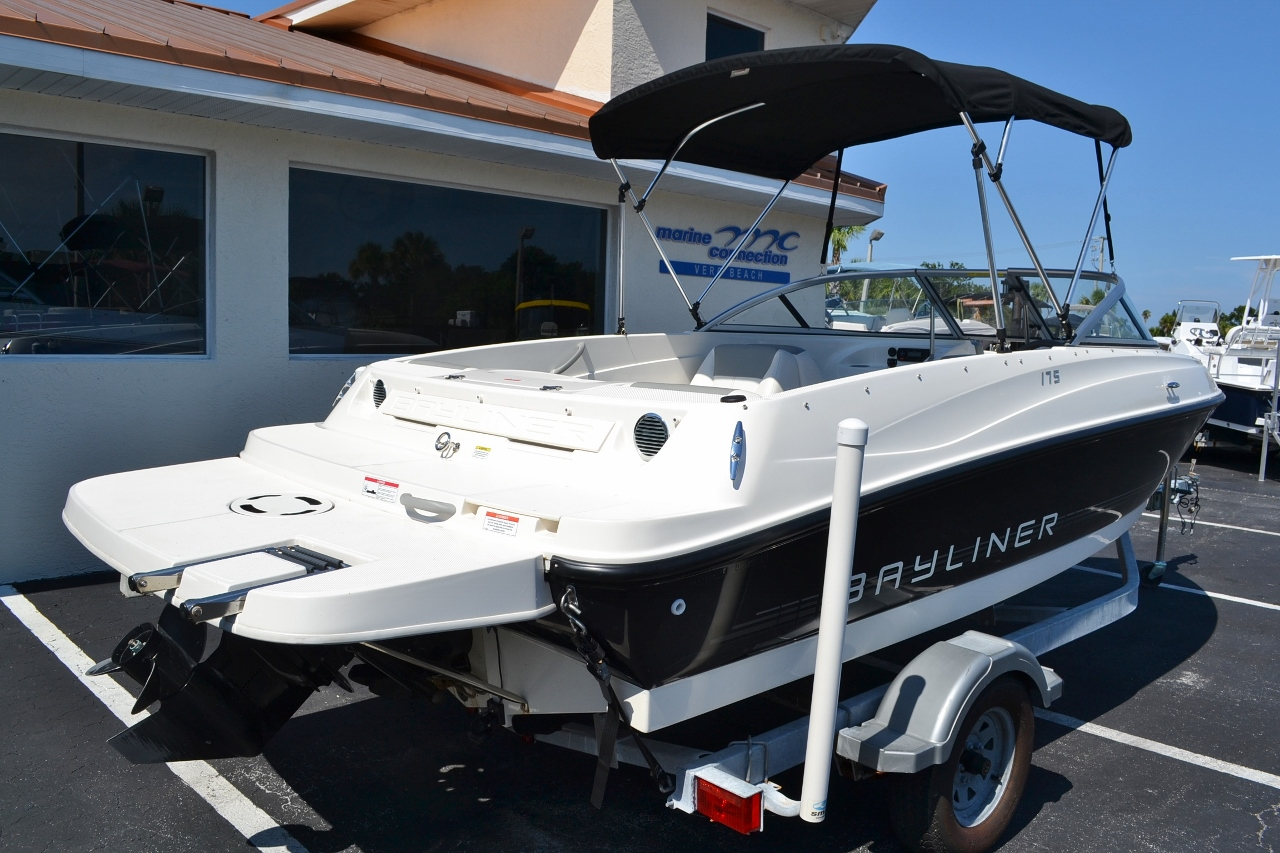 how to connect towables to a bayliner 175