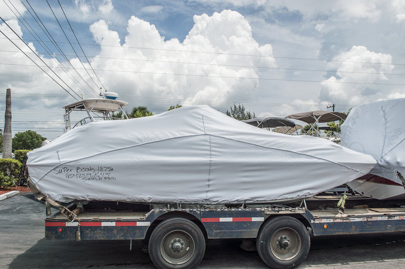 New 2015 Hurricane SunDeck SD 187 OB boat for sale in Vero Beach, FL