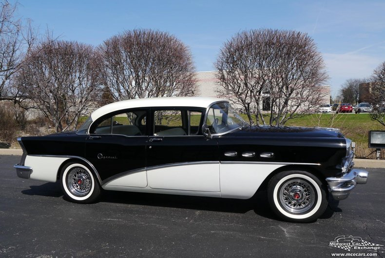 Sold inventory midwest car exchange for 1956 buick special 4 door