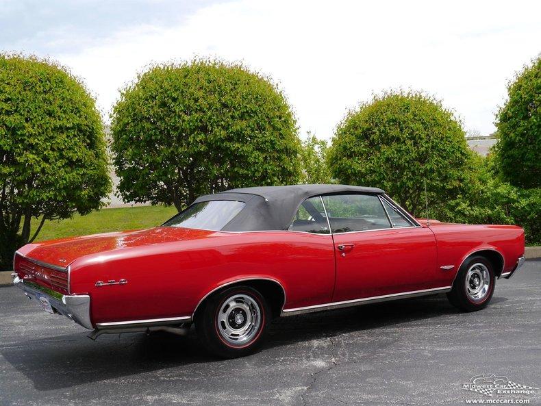 1966 Pontiac Gto Midwest Car Exchange