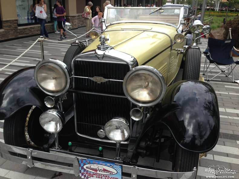 1930 Stutz M8 Roadster