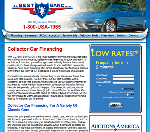 Finance Midwest Car Exchange - Classic car financing