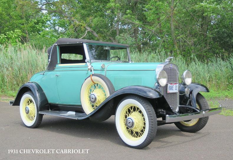 1931 Chevrolet Cabriolet